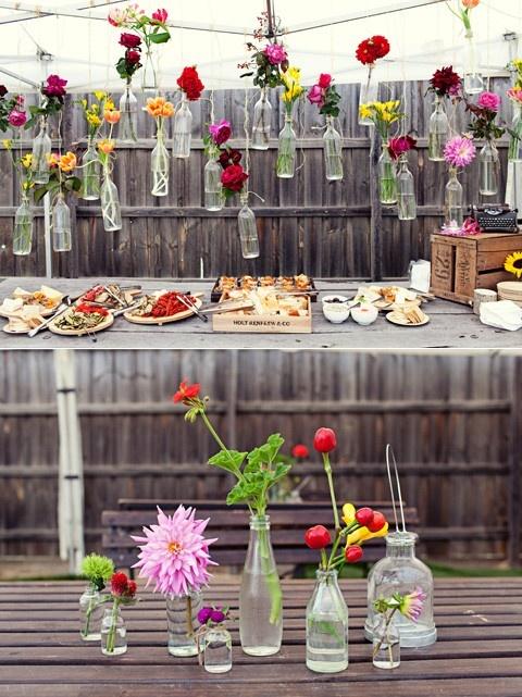flowers-jars