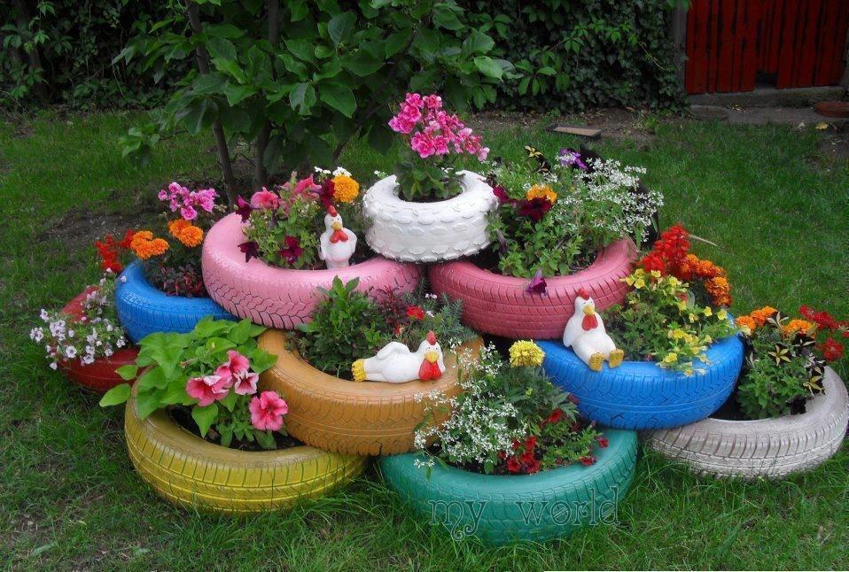 Картинки как украсить сад