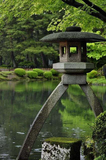 Kenrokuen Garden Kanazawa Japan