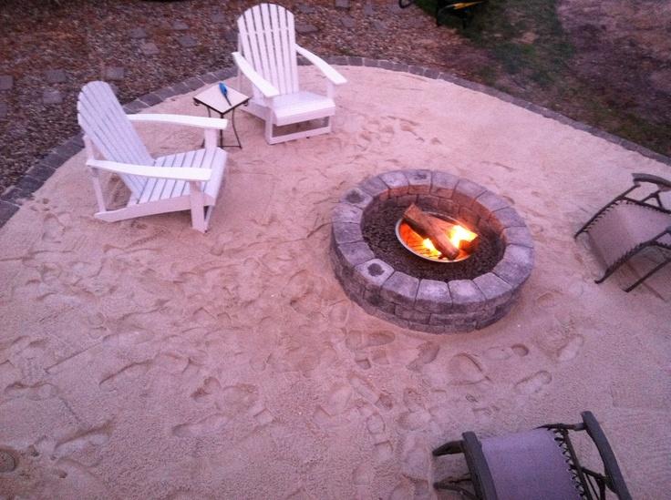 Backyard beach - Ideas for Garden, Backyard and space ...