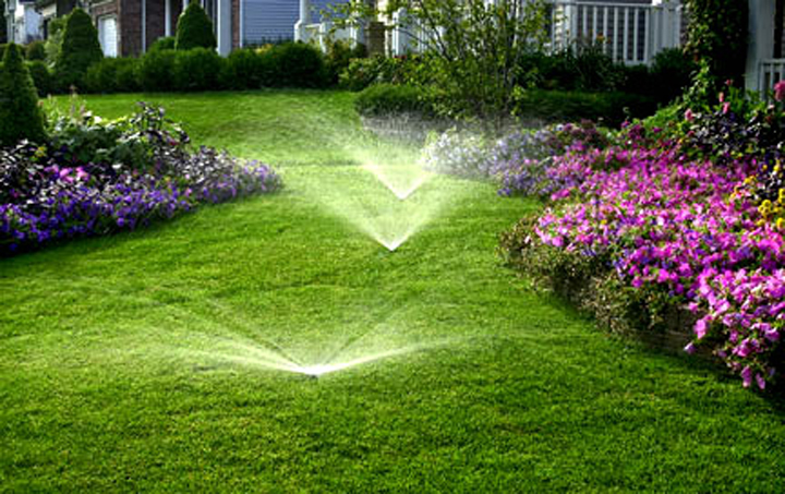 automatic irrigation systems ideas for garden backyard and space