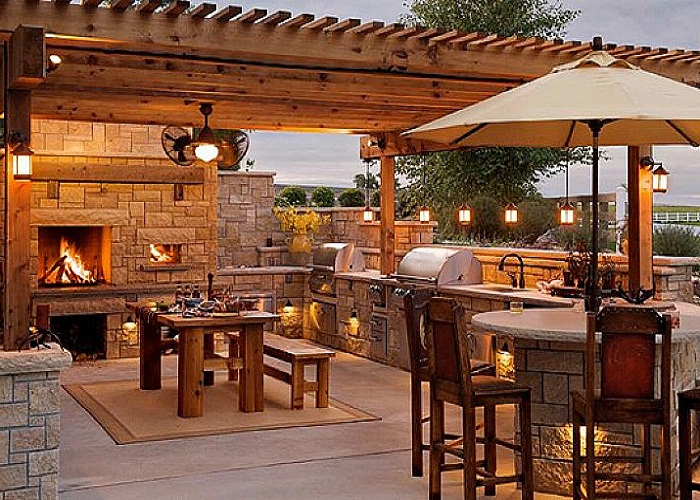 Outdoor kitchens - Ideas for Garden, Backyard and space ...