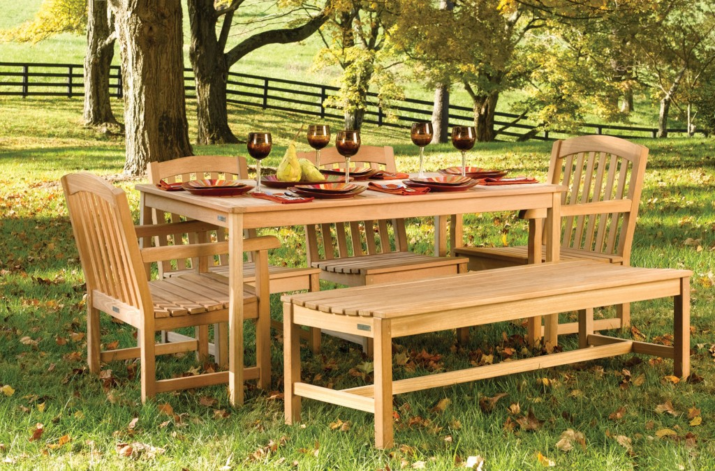 wood furniture maintenance ideas for garden backyard and space