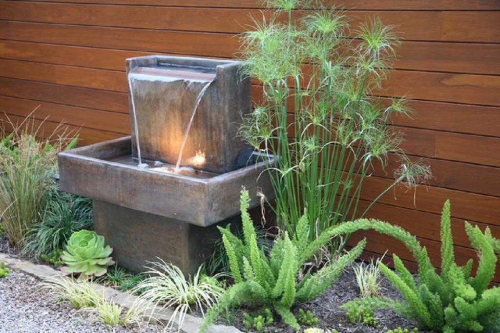 Garden Fountains An Oasis Of
